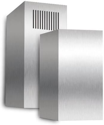 XOEDCRI Stainless Steel Telescoping Duct Cover - Fits Model XORI for Ceilings up to 10'