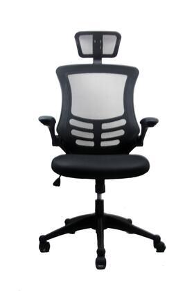 RTA-80X5-BK Techni Mobili Executive High Back Chair with