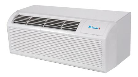 KTHM012-E3H2(B) 12 000 BTU PTAC Packaged Terminal Heat Pump Air Conditioner with 3kw Electric Heater  Quick Condenser  Electronic Controls  Optional Remote