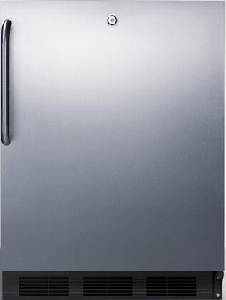 FF7LBLCSS 24 inch  FF7BI Series Medical  Commercial Freestanding or Built In Compact Refrigerator with 5.5 cu. ft. Capacity  Adjustable Spill Proof Glass Shelves