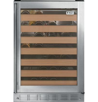 ZDWR240HBS 5.5 cu. ft. Wine Cooler with Adjustable Temperature Control  LED Lighting  Full-Extension Sliding Racks  Tempered Glass Door and Red or White Wine
