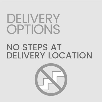 No Steps at Delivery