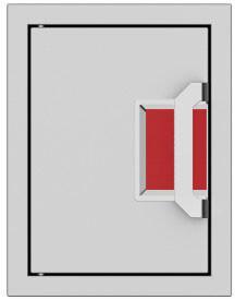 """AEPTD16RD 16"""" Paper Towel Dispenser  in"""