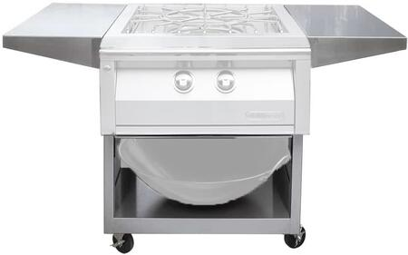 "AXEVP-C 24"" Cart For Versapower Cooker in Stainless"