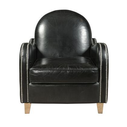 P006302 Essex Leather Accent In Black