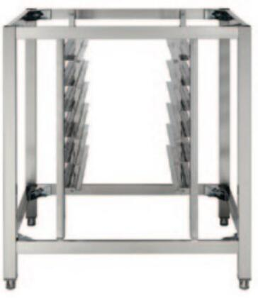 AX801 Oven Stand with Tray Support for Axis Full Size Oven in Stainless