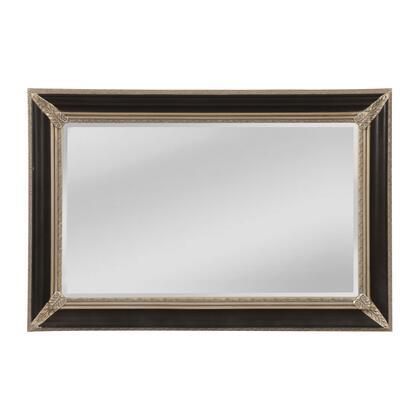 MW5800B-0044 Kingsdale Mirror in Aged Sterling  Ebony Crackle