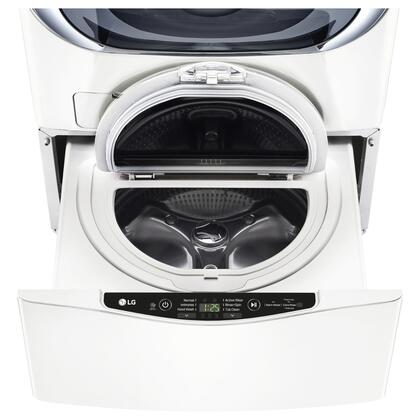 "WD100CW 27"""" SideKick Pedestal Washer for Front Load Washer with 1.0 cu. ft. Right Size Capacity  Specialty Cycles  and Direct Drive Motor:"" 653116"