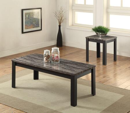 Arabia Collection 82134 2 PC Living Room Table Set with 48