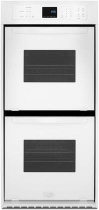 Whirlpool WOD51ES4EW 24 White Double Electric Wall Oven