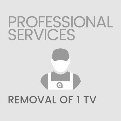 Removal of 1 TV