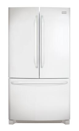 Frigidaire - 27.6 Cu. Ft. French Door Refrigerator - White FFHN2740PP