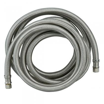 """180"""" Water Hose/Ice Maker Connector with 1/4"""""""