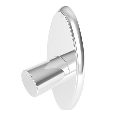 1839CB/PC Transitional 72 in. Oval Shower Rod in Polished