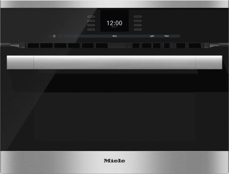 "H6500BMSS 23"" ContourLine Built-In Speed Oven with MasterChef Automatic Programs  1.52 cu. ft. Capacity  SensorTronic Controls  and Timer  in Clean Touch"