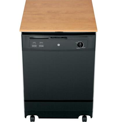 "GE 25"" Convertible Portable Dishwasher Black GSC3500DBB"