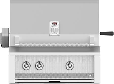 """EMBR30NGSS 30"""""""" Built In Grill with 2 U Burners  1 Sear and Rotisserie in Stainless"""" 769994"""