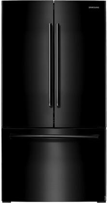 "RF261BEAEBC 36"" Energy Star Rated French Door Refrigerator with 25.5 cu. ft. Capacity  Internal Filtered Water  Twin Cooling Plus  LED Lighting  Power Freeze &"