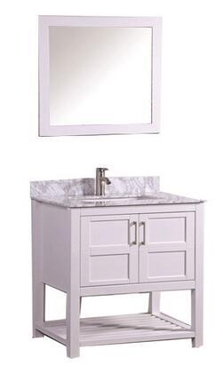 -2130W Norway 30 Single Sink Bathroom Vanity Set