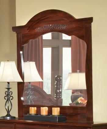 15128 Camp Creek 42.25 inch  X 48.25 inch  Dresser Mirror in Cherry