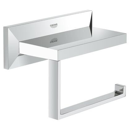 Grohe 40499000 Allure Brilliant Toilet Paper Holder, Starlight