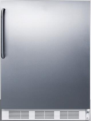 CT66JSSTB 24 inch  CT66J Series Medical Compact Refrigerator with 5.1 cu. ft. Capacity  Interior Light  Adjustable Thermostat  Clear Crisper  and Door Storage: