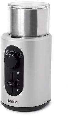 CG1451 Coffee  Spice and Herb Grinder with Stainless Steel Blade  Removable Grinding Bowl and Retractable Cord in Stainless