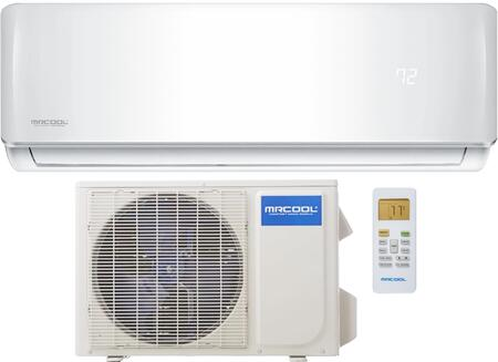 DIY12HPCWMAH115A DIY Series Ductless Mini Split with 12000 BTU Cooling  12000 BTU Heating   Wifi Functionality  Easy and Quick Installation  in