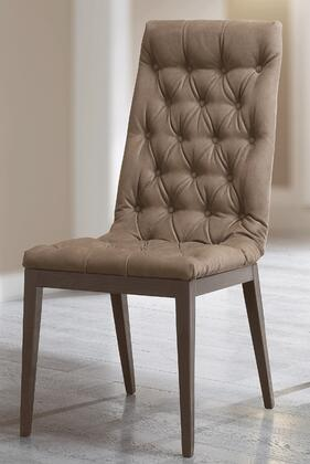 """ELITECHAIR_19""""_Side_Chair_with_Tapered_Legs__Button_Tufting_and_Eco-Leather_Upholstery_in"""
