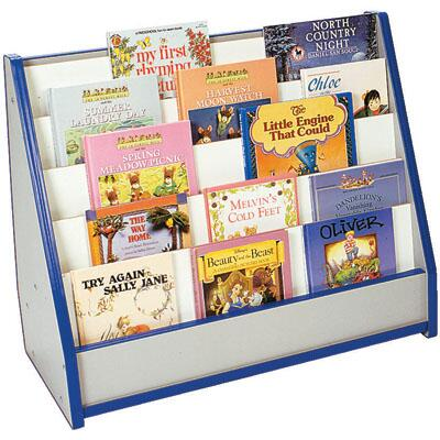 M50025PR Tot Bookstand with Write n' Wipe Maple Finish  Edge Color -