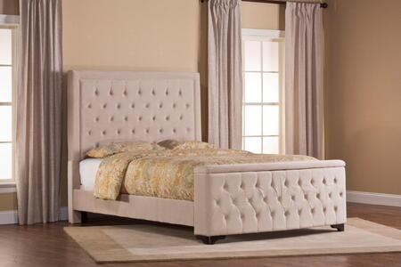 1566BKRKS Kaylie Bed Set with Stroage Footboad - King - with Rails