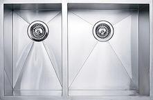 DS4006040 30 inch  Wide Undermount Double Bowl Sink - 18 Gauge: Stainless
