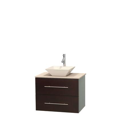 Wcvw00924sgocmd2wmxx 24 In. Single Bathroom Vanity In Gray Oak  White Carrera Marble Countertop  Pyra White Porcelain Sink  And No