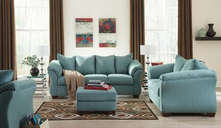 Darcy 75006SLC 3-Piece Living Room Set with Sofa  Loveseat and Chair in