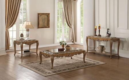 Orianne Collection 80690SET 3 PC Living Room Table Set with 52