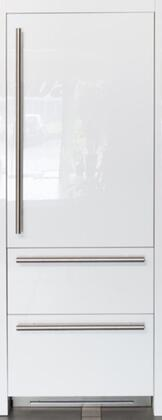 FI30BDI-RO 30 inch  Integrated Series Built In Bottom Freezer Refrigerator with 16 cu. ft. Capacity  Double Freezer Drawer  TriMode  Ice Maker  TotalNoFrost