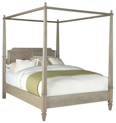 Coronado B131-60-62-78 Queen Canopy Bed with Headboard  Footboard  Canopy Pack and Side Rails in