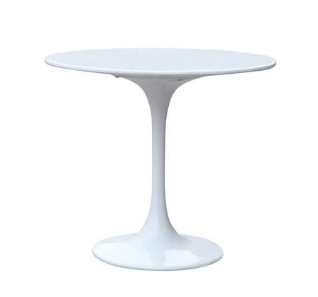 AL10018 Rose 30 inch  Table Fiberglass With Lacquered Light Gloss