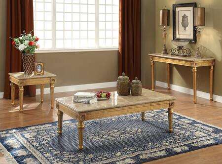 Daesha Collection 817153SET 3 PC Living Room Table Set with 57