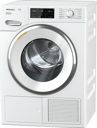 TWI180WP 24 inch  Heat Pump Electric Dryer with Steam Cycle  4.026 cu. ft. Capacity  Convertible Door Hinge  Drum Lighting  and Wi-Fi Conn@ct  in