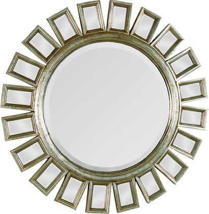 MT720 34x34 Carwyn Mirror with Metal/Mirror Frame in Antique