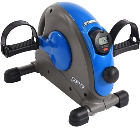 Mini Collection 15-0141 Exercise Bike with Dial Resistance  Scanning Multi-Function Workout Monitor  Textured Pedals  Adjustable Tension Resistance and Smooth
