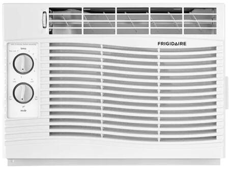 FFRA0611U1 17 Window Air Conditioner with 6 000 BTU Cooling Capacity  Effortless Clean Filter  Adjustable Side Panels  and Effortless Temperature