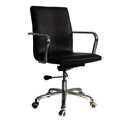 FMI10170-dark brown Confreto Conference Office Chair Mid Back  Dark