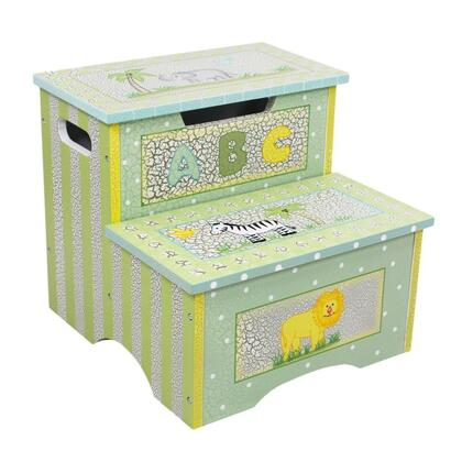 W-5423H Teamson Kids- Safari Crackle Step Stool with
