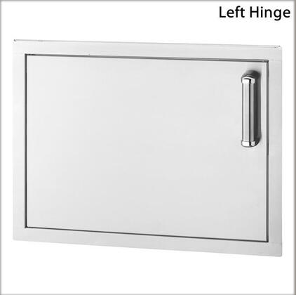 53917-SL Flush-Mounted Series Single Access Door with Left Door Hinge: Stainless