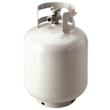 OPDQCV 5 Gallon  inch OPD inch  Liquid Propane Tank with Quick Close Valve in Brushed
