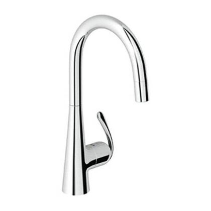 Grohe 32226SD0 Ladylux3 Pro Single-Handle Kitchen Faucet