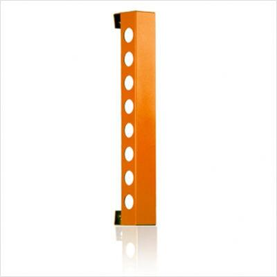 VB8BBO Bead Blast Vertical Wine Rack With Modern and Innovative Designs  Vertically Mounted  & In Matte