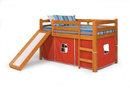 3645000-R Twin Tent Bed with Slide